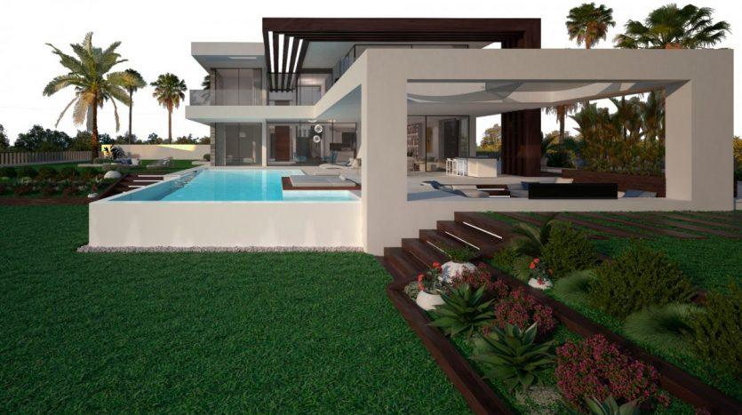 Lujas villas personalizadas en Estepona