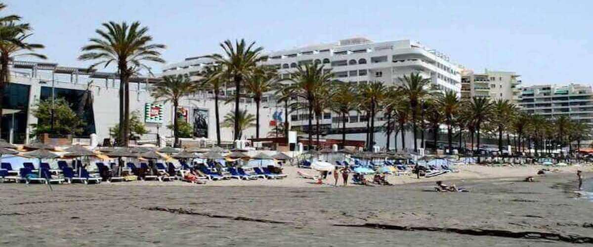 Playa Fontanilla Marbella